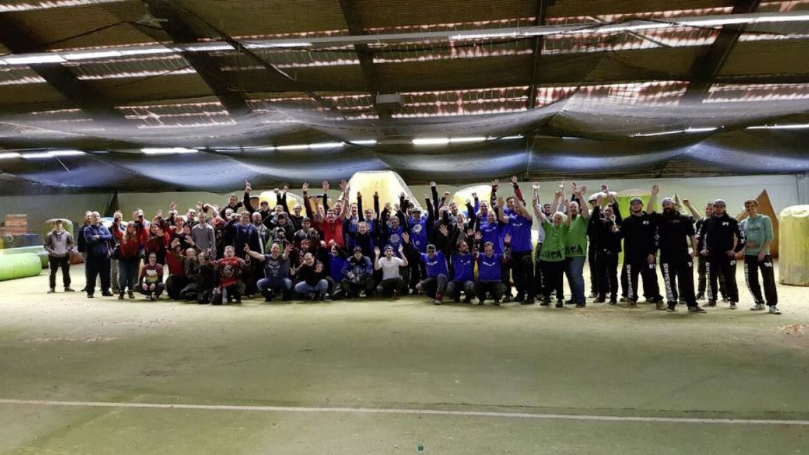 Die Conos Wintergames bei Paintball Münster